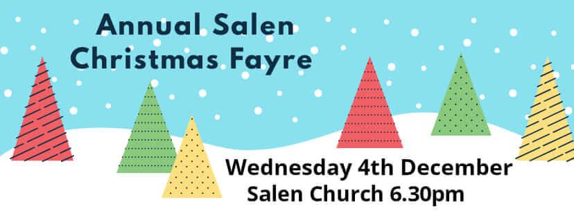 Salen Christmas Fayre