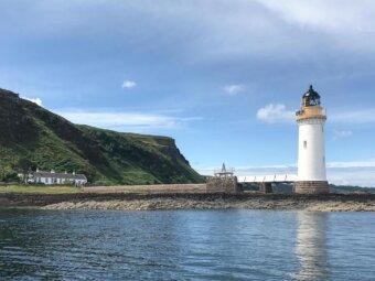 Rubha nan Gall Lighthouse Cottage
