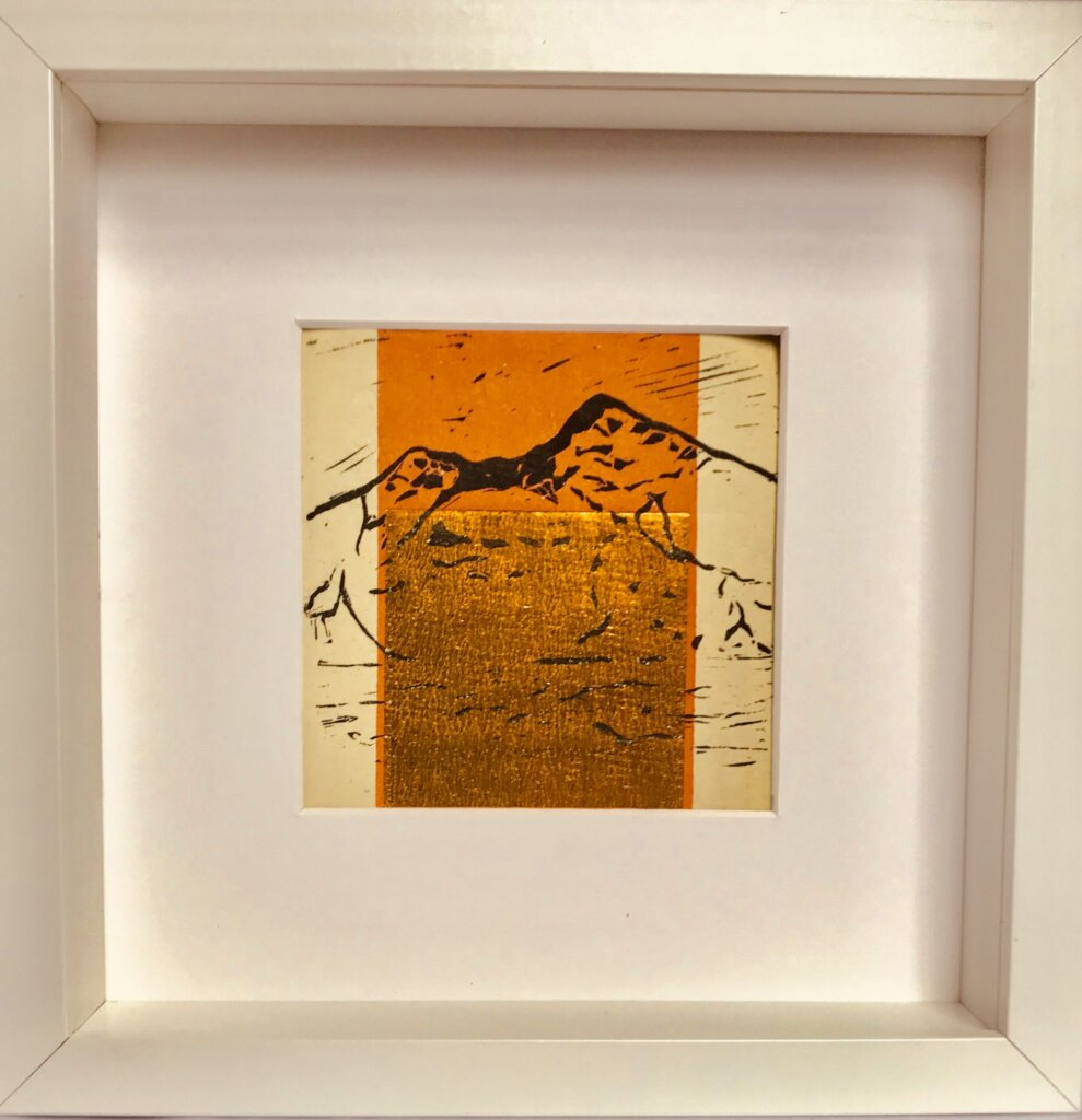 Ben More Print from Alicia Hendrick - The Mull and Iona Shop