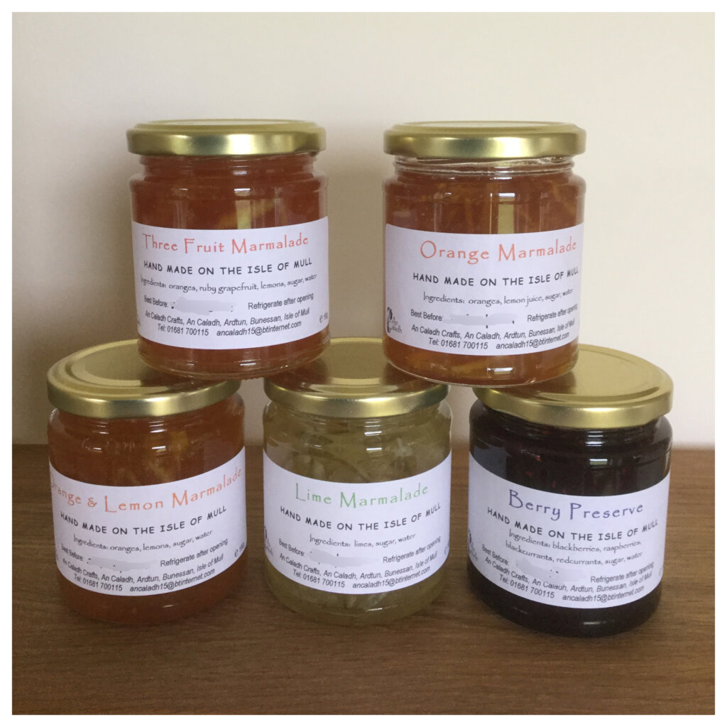 An Caladh Marmalade and Preserve - The Mull and Iona Shop